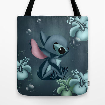 Stitch Origami  Tote Bag by LouJah