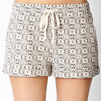 Heirloom Printed Knit Shorts