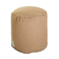 Small Linen-Twill Pouf - Wales - Graham