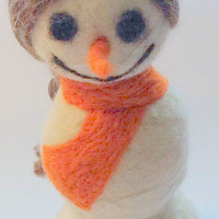 Snow Woman, Snowman Seasonal Holiday Home Decor