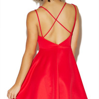 X-Back Scuba Dress | Wet Seal