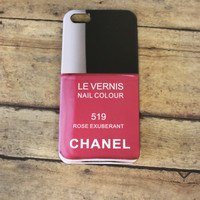 sale LE VERNIS nail colour CHANEL 519 Rose Exuberant iPhone 5 5s 5c case/cover By: Hot2own