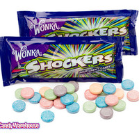 Wonka Shockers Candy Packs: 24-Piece Box