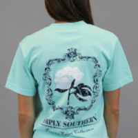 Simply Southern Tee - Mint Cotton