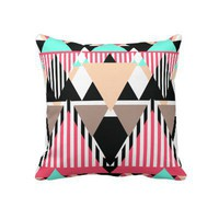Modern Native Pattern Pillows from Zazzle.com