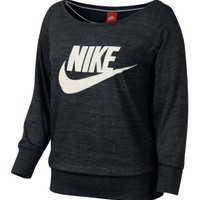 Nike Women's Gym Vintage Crewneck Shirt