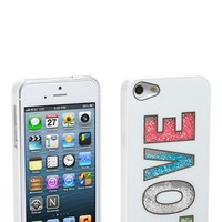Tri-Coastal Design 'Love' Loose Beads iPhone 5 Case (Juniors) | Nordstrom