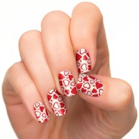 Shopping | Incoco Nail Polish Strips, Valentine's Day Nail...