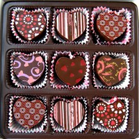 Shopping | Heart Shaped Truffle Assortment - 9 Chocolate...