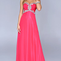 Floor Length Strapless Nina Canacci Dress