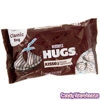 Hershey's Chocolate Hugs: 70-Piece Bag