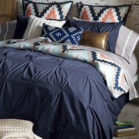 Blissliving Home 'Harper - Navy' Cotton Sateen Duvet Cover & Shams (Online Only) | Nordstrom