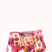 Floral Rebel Midsize Cosmetic Bag