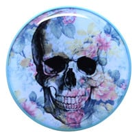 Blue Skull - Plug | UK Custom Plugs Shop for gauges, alternative fashion & body jewellery