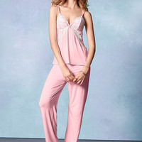 Supersoft Lace-trim PJ Set - Body by Victoria - Victoria's Secret