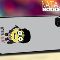 Harry Potter Minion - iPhone 4/4s/5 Case - Samsung Galaxy S3/S4 Case - Blackberry Z10 Case - Ipod 4/5 Case - Black or White