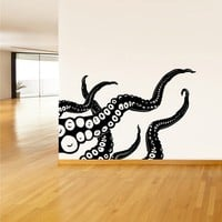 Wall Decal Vinyl Sticker Decals Octopus Sprut Poulpe Delfish tentacles z1408