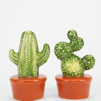 Magical Thinking Cactus Salt And Pepper Shaker - Set Of 2 - Urban Outfitters