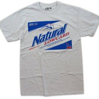 Lowcard Natural Short-Sleeve T-Shirt (Grey)
