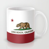 Long Beach California Republic Flag Mug by NorCal