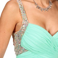 Pre-Order Mar-Seafoam Prom Dress