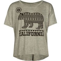FULL TILT Cali Bear Girls Tee