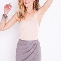 Rashida Wrap Skirt - Gray | NASTY GAL | Jeffrey Campbell shoes, Evil Twin, MinkPink, BB Dakota, vintage dresses + more!