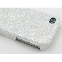 Silver Sparkles Case for Apple iPhone 4