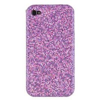 Light Purple Sparkles Case for Apple iPhone 4
