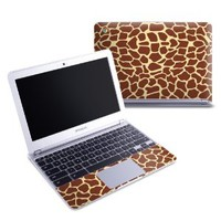 Giraffe Design Protective Decal Skin Sticker (High Gloss Coating) for Samsung Chromebook 11.6 inch XE303C12 Notebook