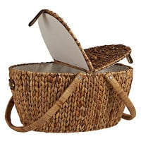 Buy John Lewis Water Hyacinth Picnic Hamper online at John Lewis