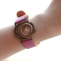 geekery handmade watch OUT OF TIME by revolt70 on Etsy
