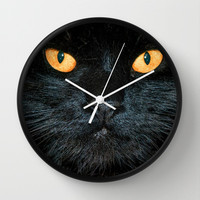 BLACK MAGIC Wall Clock by catspaws