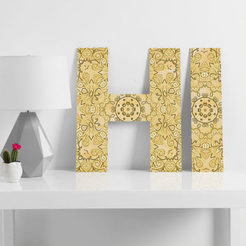 Lisa Argyropoulos Cassy Neutral Tones Decorative Letters