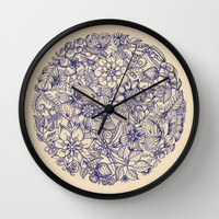 Circle of Friends Wall Clock by micklyn