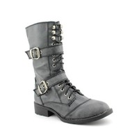 G By Guess Better Womens Size 7.5 Black Synthetic Fashion - Mid-Calf Boots