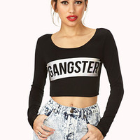 Gangster Crop Top