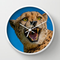 WILD Wall Clock by catspaws