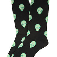 The Aliens Socks in Black
