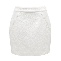 Raegan piped jacquard skirt - Forever New