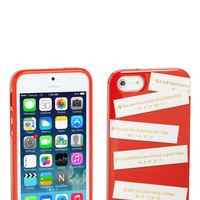 kate spade new york 'fortunes' iPhone 5 & 5s case | Nordstrom