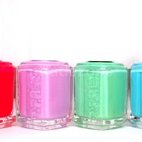 Essie Nail Polish Resort Collection 2013 - In The Cab-Ana VARIETY 827-830