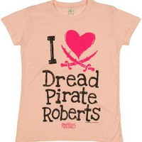 Princess Bride Dread Pirate Ladies Tee