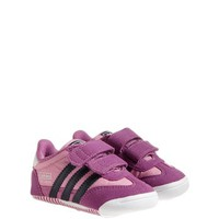 adidas 'Learn-2-Walk - Dragon' Crib Shoe (Baby Girls)