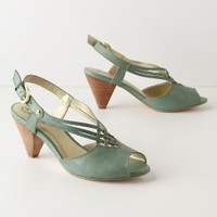 Diamond Weave Slingbacks - Anthropologie.com