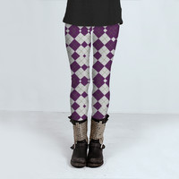 Geometric Pattern 001 by Mercury McCutcheon (Leggings)