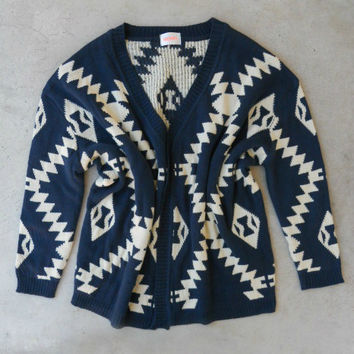 Native Ways Knit Cardigan [4614] - $27.60 : Vintage Inspired Clothing & Affordable Dresses, deloom | Modern. Vintage. Crafted.