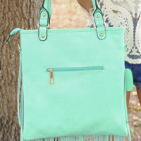 Forever My Love Purse: Mint | Hope's