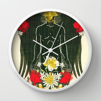 If Only Tonight We Could Sleep Wall Clock by chobopop
