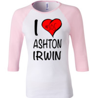 5 Seconds Of Summer Ashton Irwin 3/4 Sleeve Baseball Ladies Jersey - TeeeShop